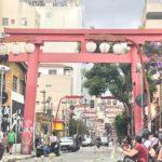 サンパウロの南米最大の日本人街リベルダーデ