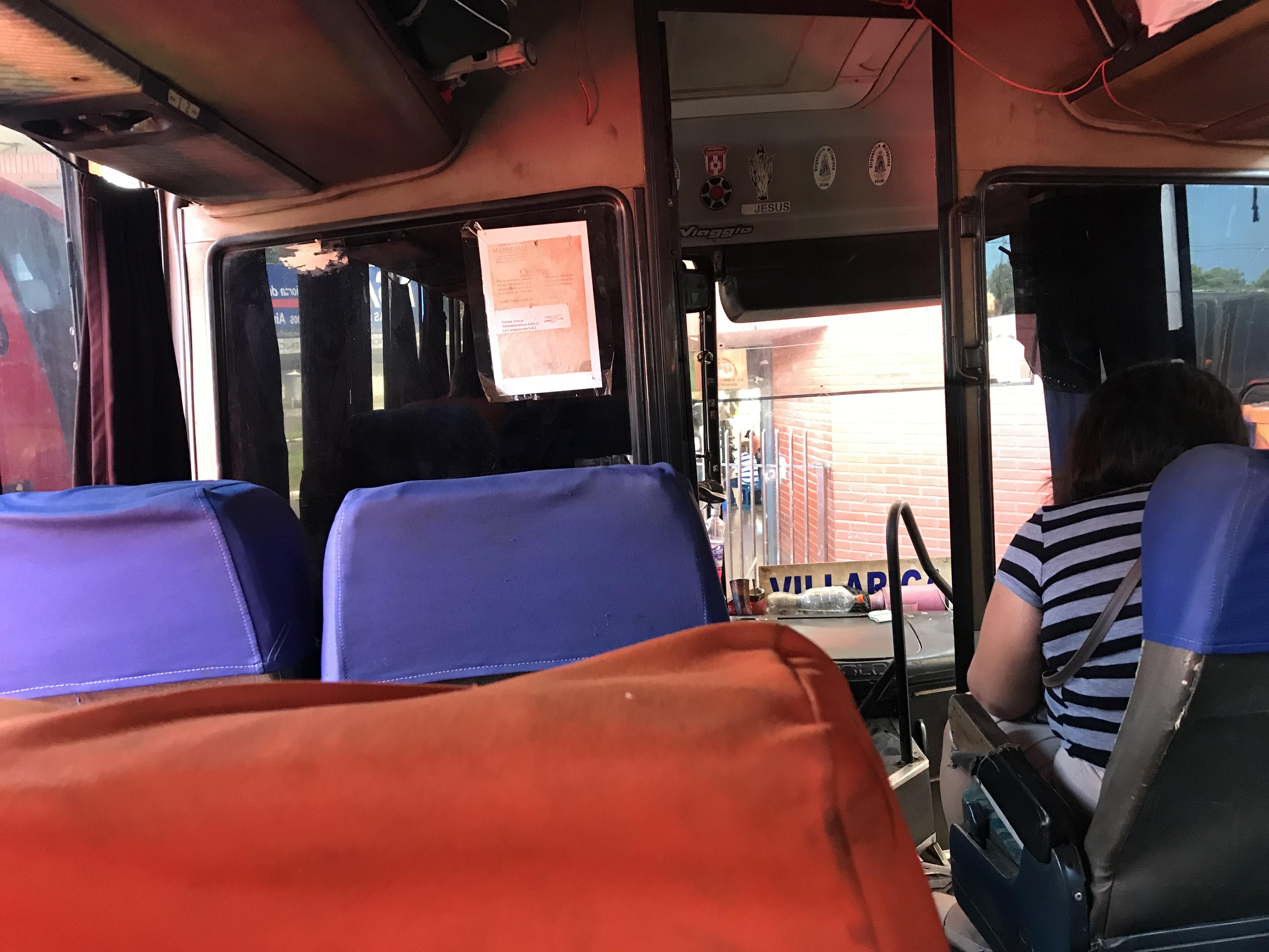 ブラジル パラグアイ バス
