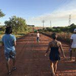 ブラジルからパラグアイのイグアス移住区に陸路移動