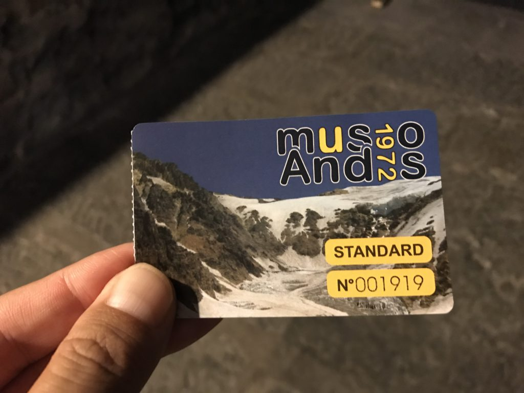 Museo Andes 1972