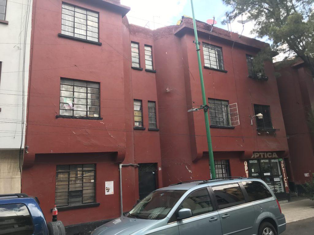 ゲバラが住んでたアパート メキシコシティ