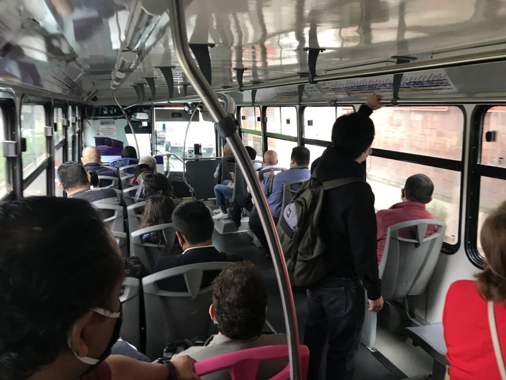 メキシコシティのイミグレシオ行き方