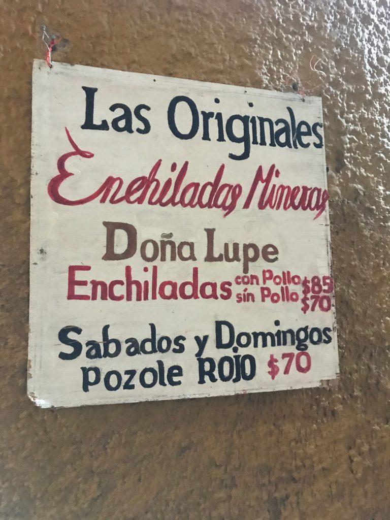 Enchiladas de Lupe