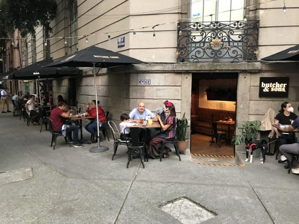 メキシコシティ ローマ地区