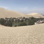 砂漠に突如現れるオアシスの町ワカチナ